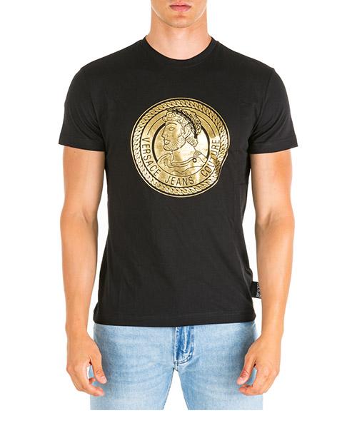 T-shirt Versace Jeans Couture adriano eb3gua7kb-e36598_ey6a nero