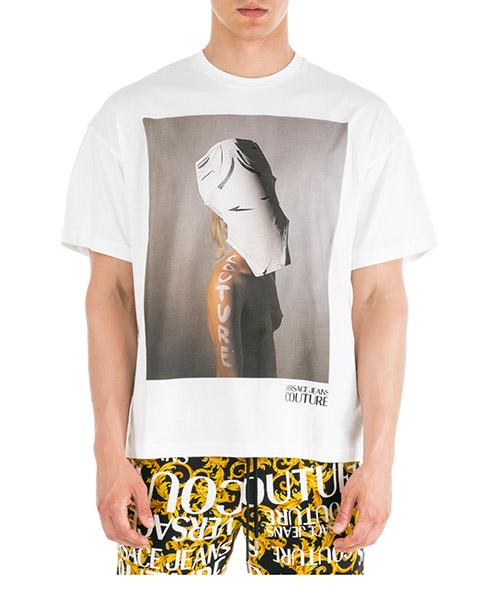 Camiseta Versace Jeans Couture Couture Capsule EB3GUA7VE-E30257_E003 bianco
