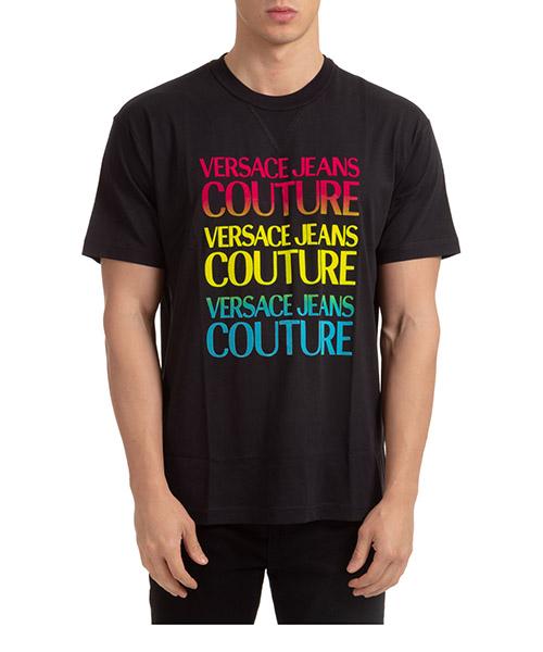 T-shirt Versace Jeans Couture EB3GZA7GB-E30382_E899 nero