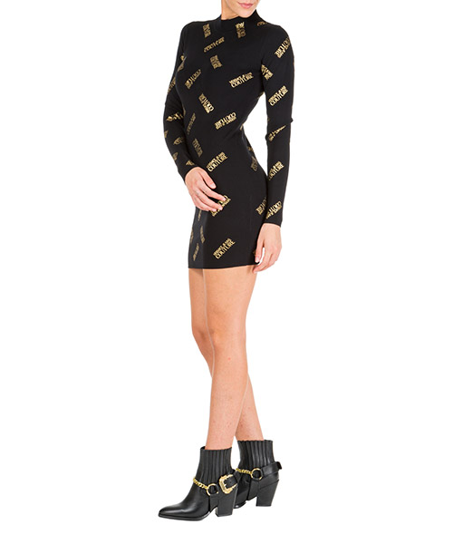 Robe courte Versace Jeans Couture eb4hua816-e50309_el37 nero