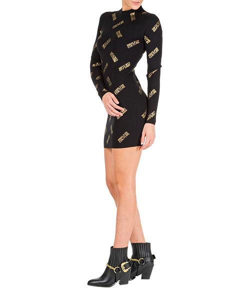 Minikleid Versace Jeans Couture eb4hua816-e50309_el37 nero