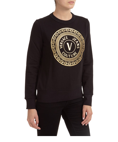 Sweatshirt Versace Jeans Couture EB6HZA7TX-E30318_EK42 nero