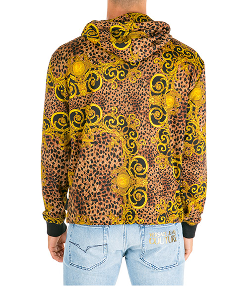 Men's hoodie sweatshirt sweat leo baroque secondary image