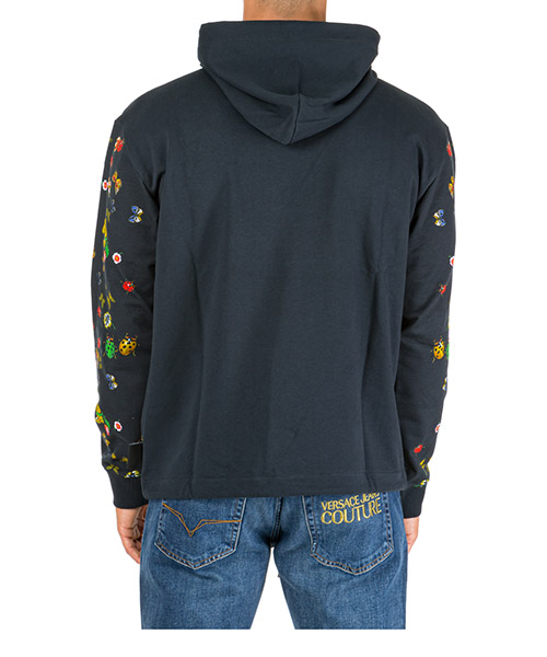 Men's hoodie sweatshirt sweat ladybug baroque secondary image
