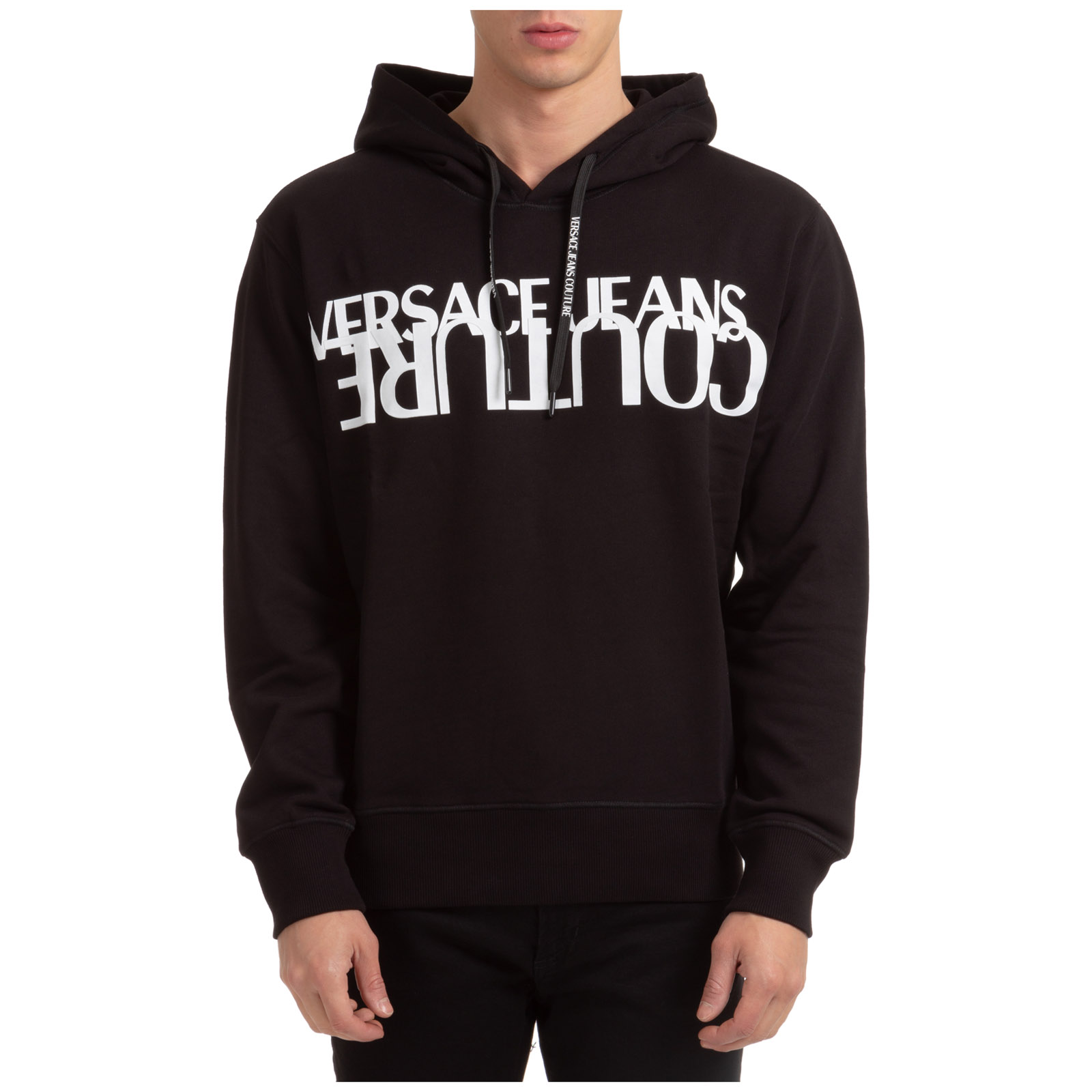 Versace Jeans Couture MEN'S HOODIE SWEATSHIRT SWEAT