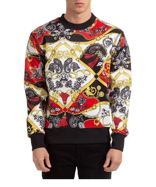 Sweatshirt Versace Jeans Couture EB7GZA718-ES0846_E500 rosso
