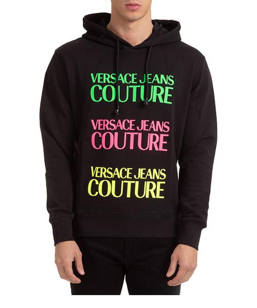 Hoodie Versace Jeans Couture EB7GZA7TR-E30318_E899 nero