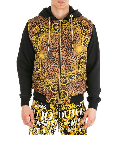 Chaleco Versace Jeans Couture Leo Baroque EB9GUA506-ES0534_E923 marrone