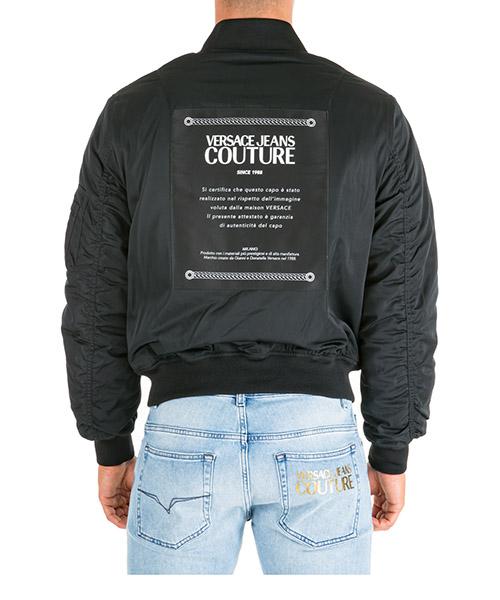 Bomber Versace Jeans Couture ec1gua908-e25013_e899 nero