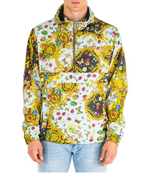 Winterjacke Versace Jeans Couture ladybug baroque ec1gua925-es0591_e112 nero