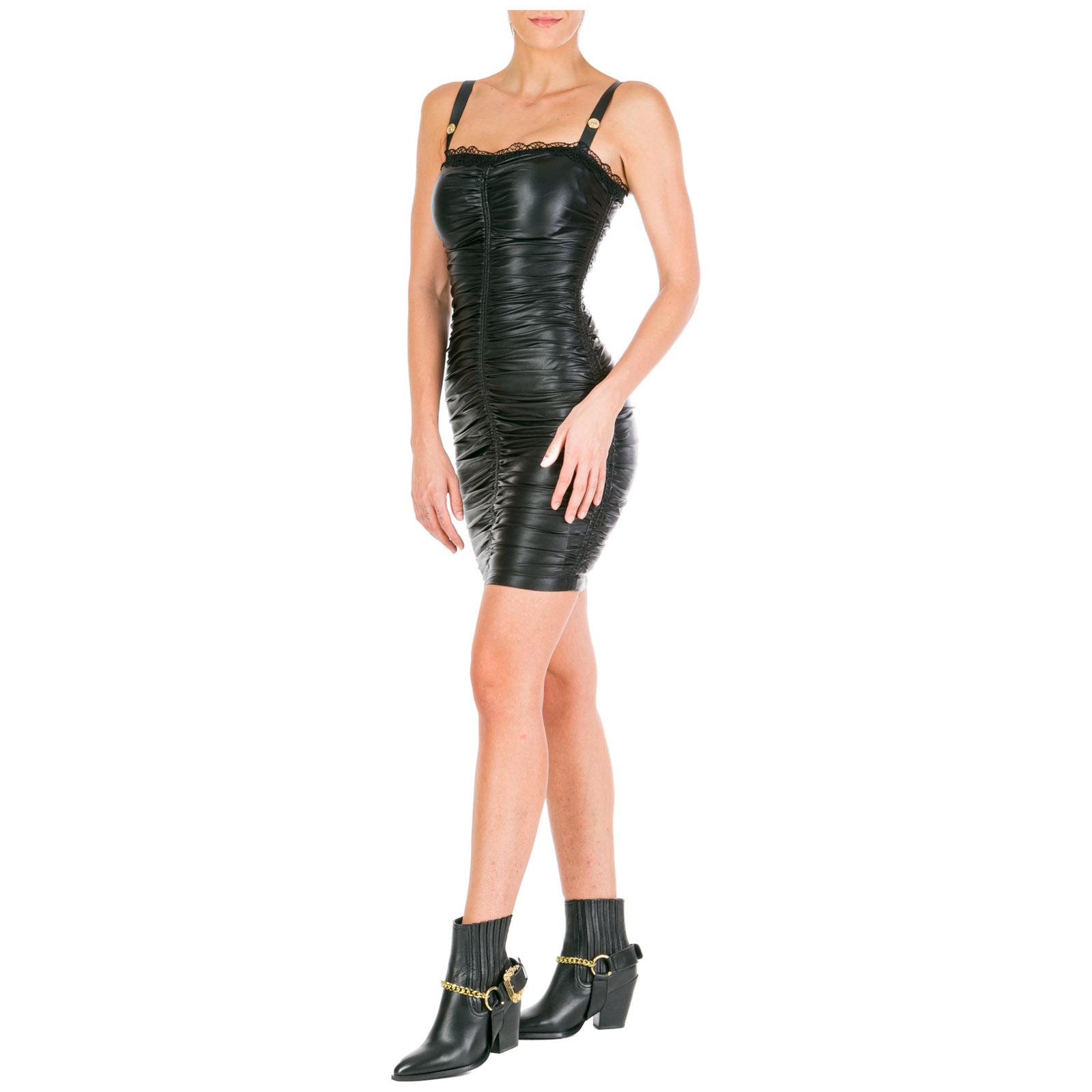 Vestito corto Versace Jeans Couture ed2hua407-e04975_e899 nero