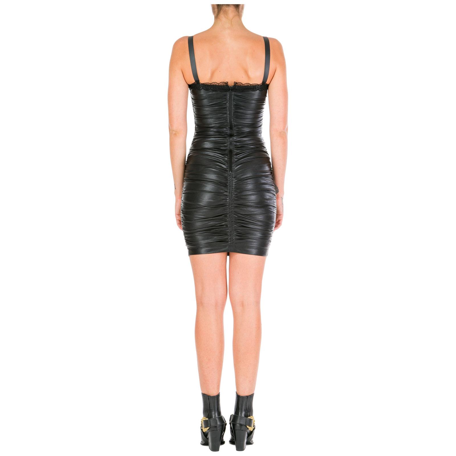 Minikleid Versace Jeans Couture ed2hua407-e04975_e899 nero
