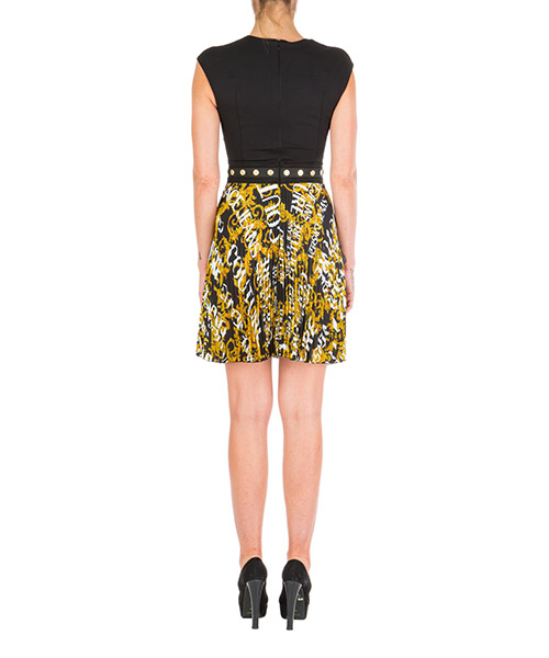 Women's short mini dress sleeveless logo baroque secondary image