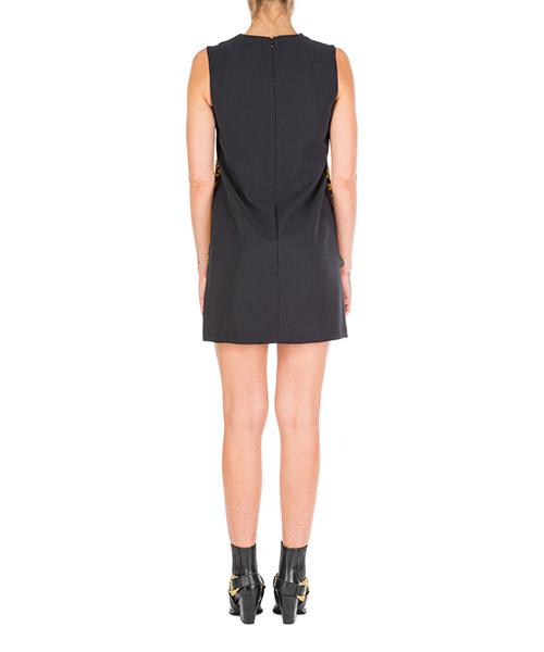 Vestito abito donna al ginocchio senza maniche  logo baroque secondary image