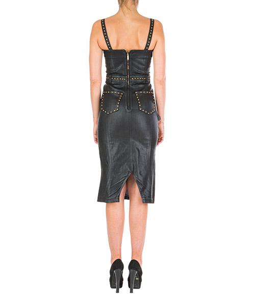 Women's calf length dress sleeveless secondary image