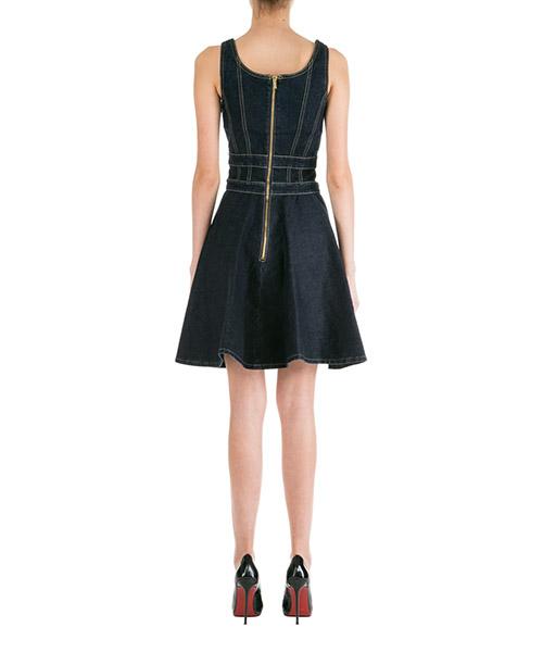 Damen kleid knielänge ärmellos secondary image