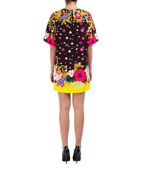 Vestito abito donna corto miniabito manica corta secondary image