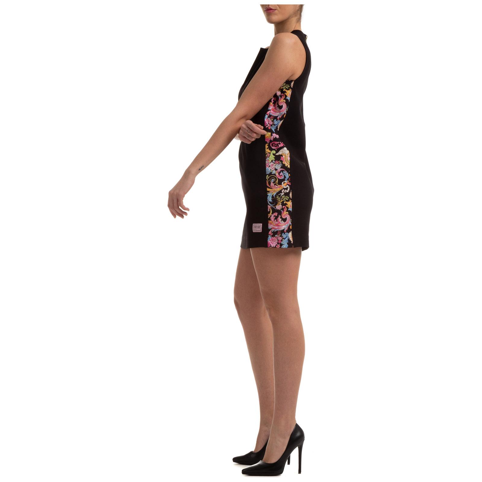 Minikleid Versace Jeans Couture Baroque Ed2hwa433 E11708 E899 Nero Frmoda Com