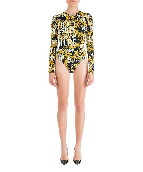 Body Versace Jeans Couture Logo Baroque ED4HUA658-ES0537_E899 nero