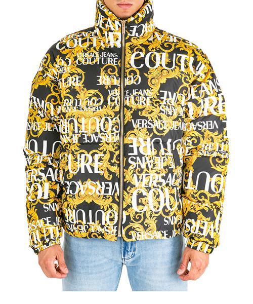 Chaqueta de plumas Versace Jeans Couture Logo Baroque EE5GUA911-E25055_E899 nero
