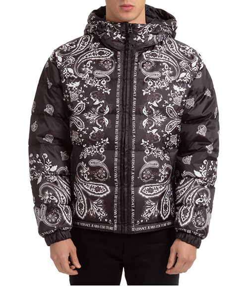 Down jacket Versace Jeans Couture EE5GZA9A3-E25132_E899 nero