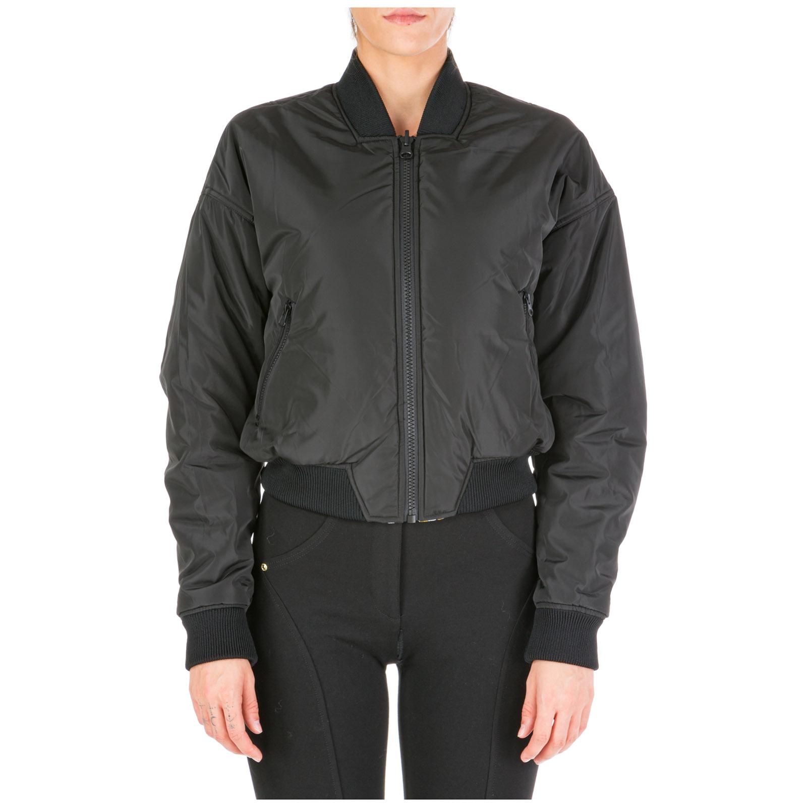 82aed22b Women's outerwear jacket blouson reversibile logo baroque
