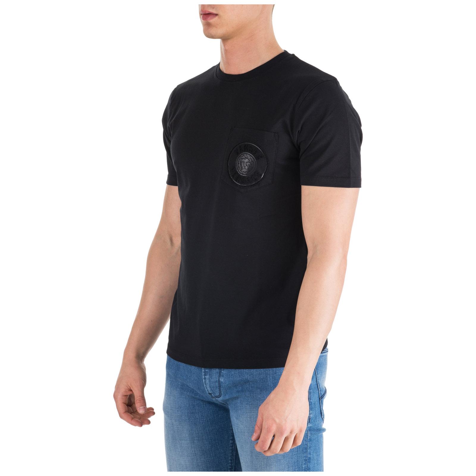 525aad6f T-shirt Versus Versace Lion Head BU90755-BJ10388_B1008 black ...