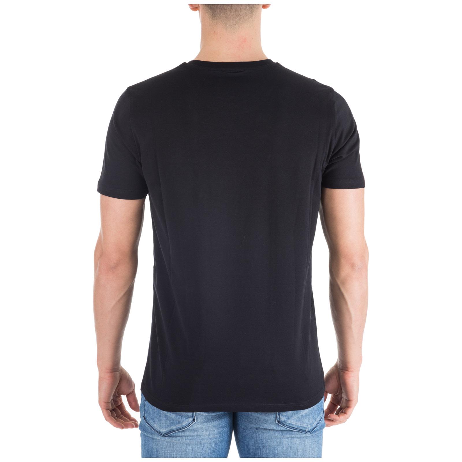 Men's short sleeve t-shirt crew neckline jumper regular lion head