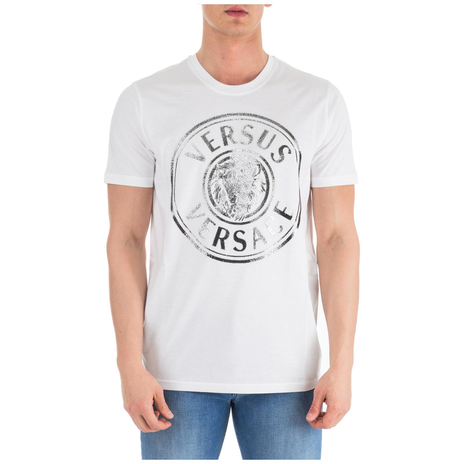 prezzo competitivo fd2b4 a2d0b T-shirt maglia maniche corte girocollo uomo regular lion head
