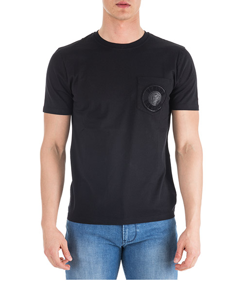 T-shirt Versus Versace Lion Head BU90755-BJ10388_B1008 black