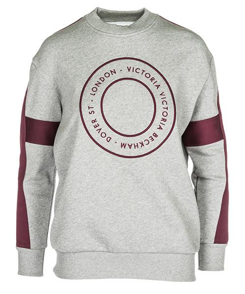 Sweatshirt Victoria Beckham JYVV086 grigio