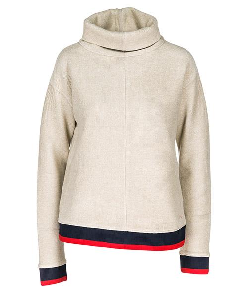 Turtle neck sweater  Victoria Beckham JYVV 096 AW18 beige