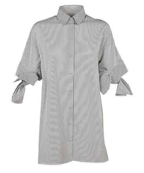 Camicia maniche corte Victoria Beckham SHVV049A bianco