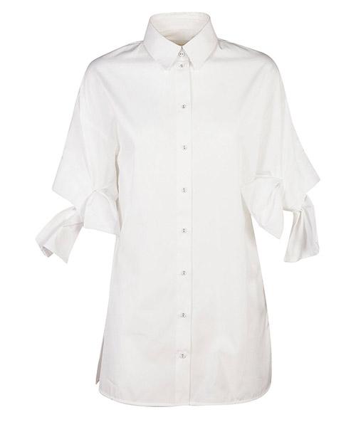 Camicia maniche corte Victoria Beckham SHVV049B bianco