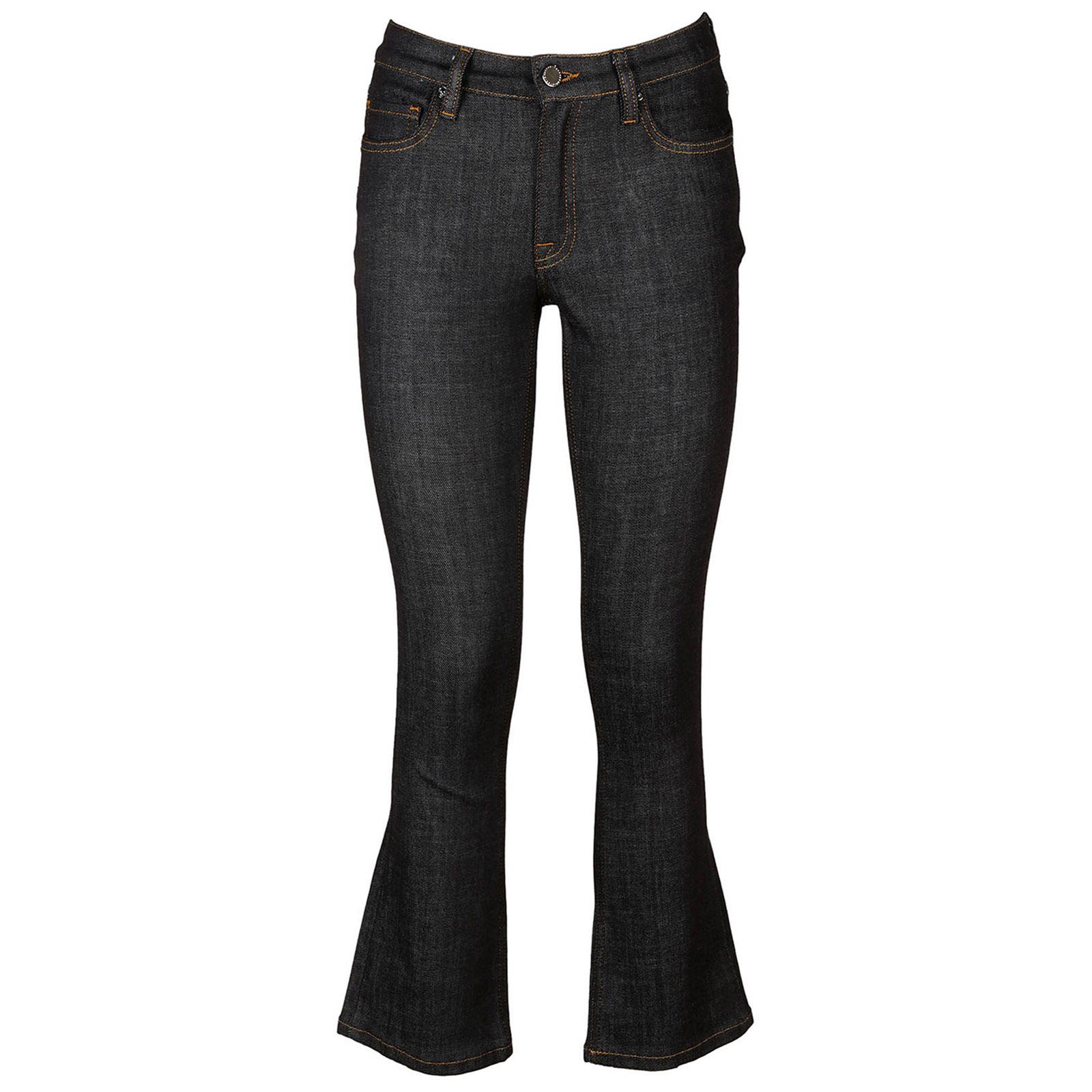 Jeans a zampa donna campana