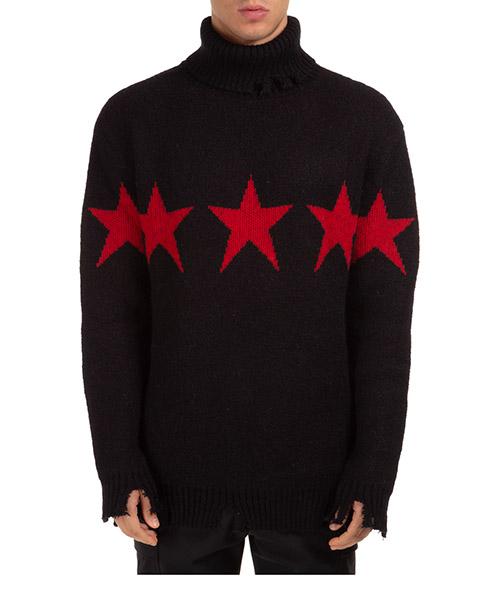 Suéter cuello alto Vision of Super VOSB10STARR nero