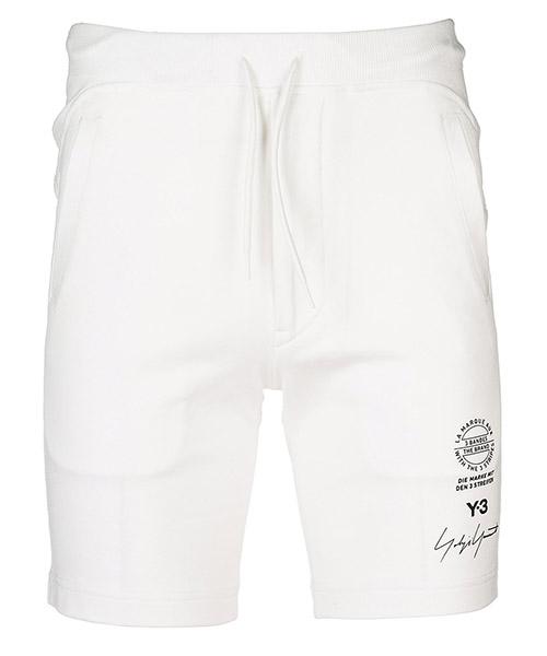 Kurze Hose Y-3 CY6875 bianco