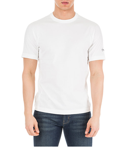 Men's short sleeve t-shirt crew neckline jumper classic