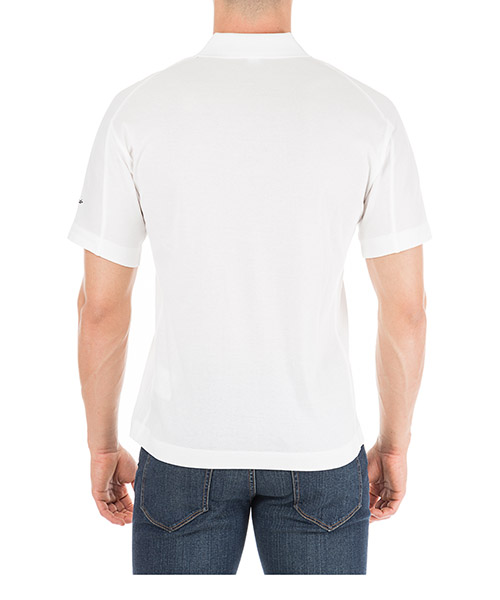 Men's short sleeve t-shirt polo collar classic secondary image