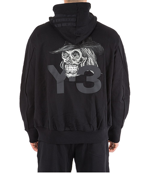 Sweat shirts à capuche homme yohji skull secondary image
