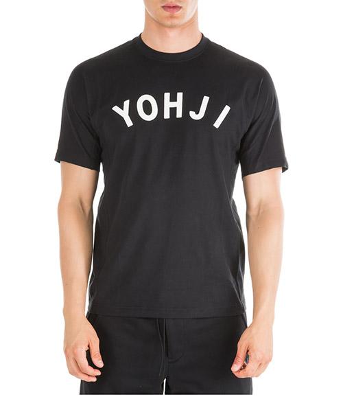 T-shirt Y-3 Yohji Letters FJ0327 nero