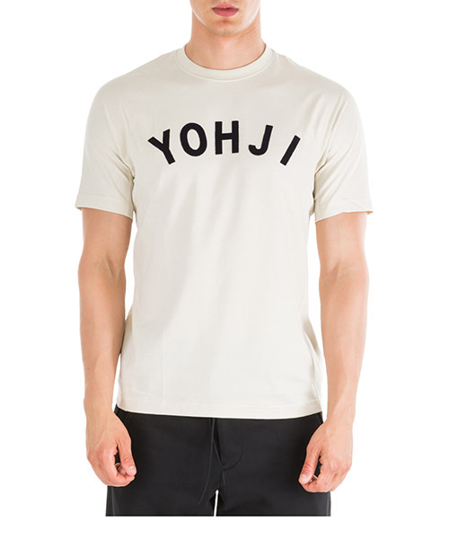 T-shirt Y-3 Yohji Letters FJ0328 bianco