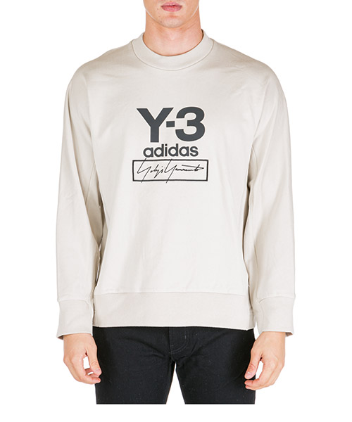 Sweat Y-3 FJ0433 beige