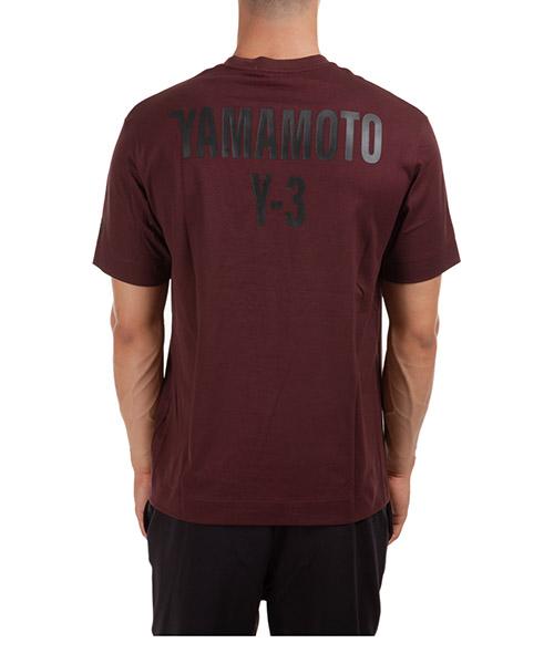 T-shirt Y-3 GK4361 bordeaux