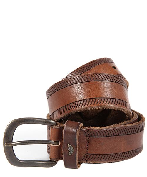 Cintura Armani Jeans V6179L4 marrone