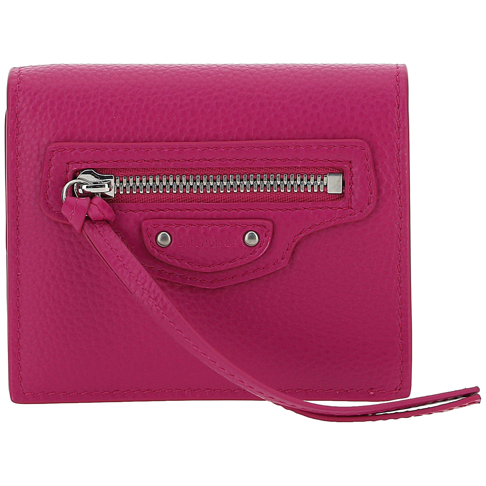 Balenciaga WOMEN'S WALLET GENUINE LEATHER COIN CASE HOLDER PURSE CARD