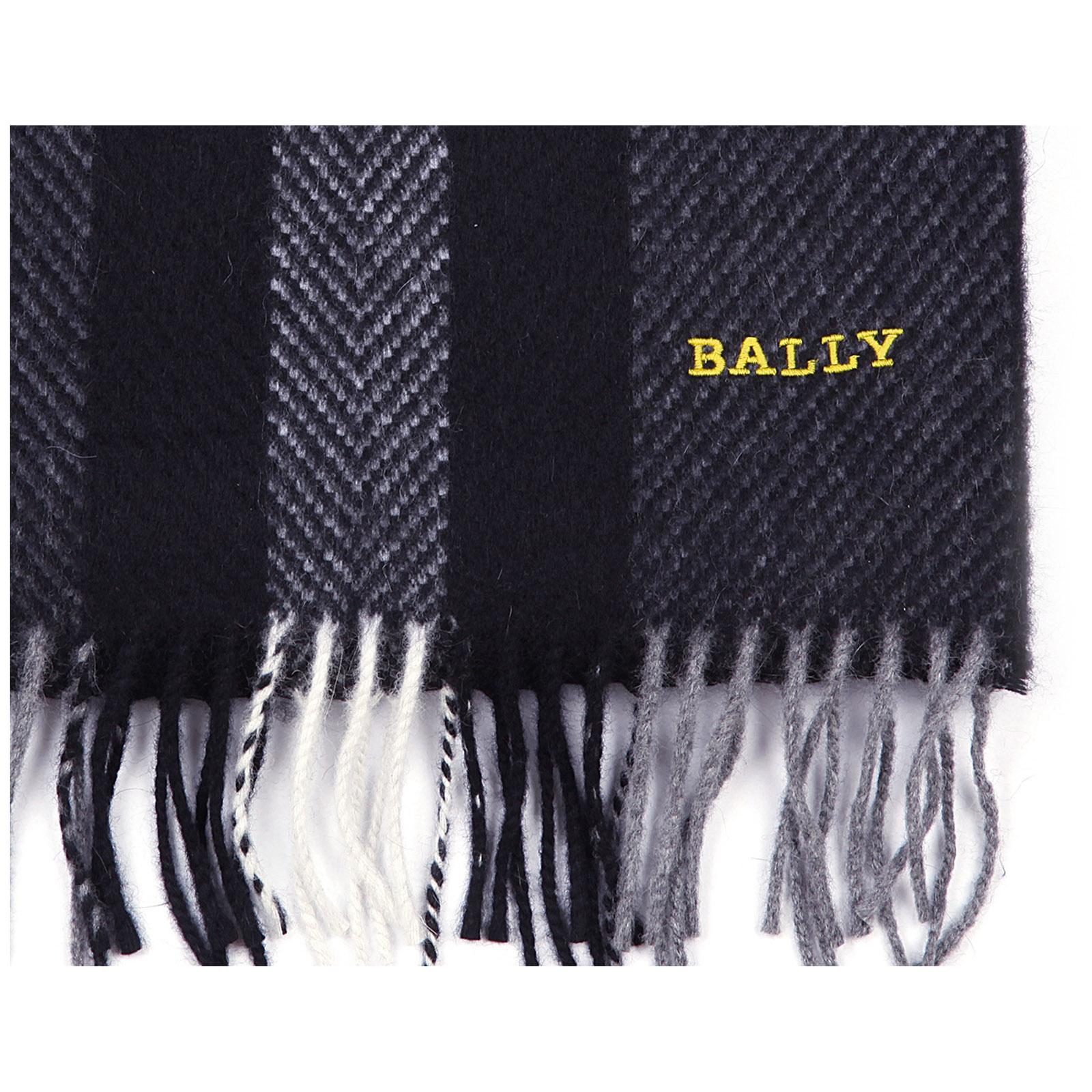 Bufanda de hombre en lana multi slate jacquard