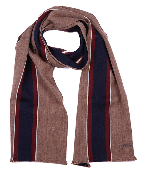 Wool scarf Bally 6199234 00104 marrone