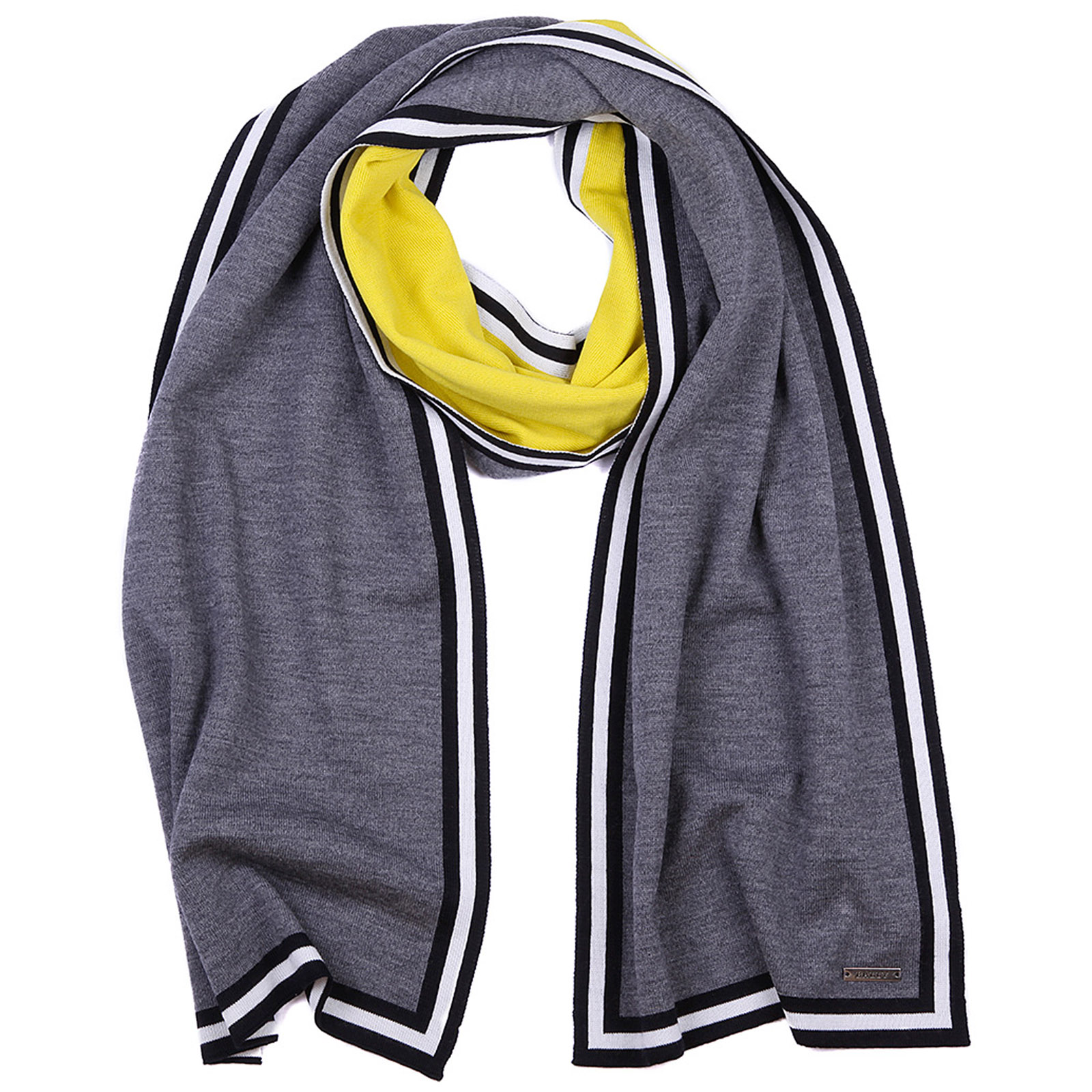 Men's wool scarf multisunflower