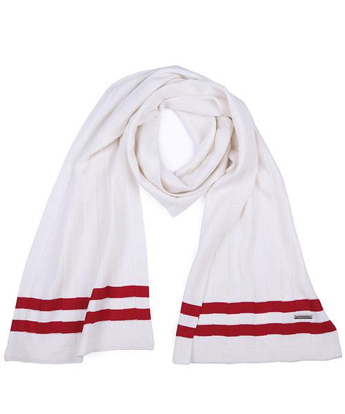 Sciarpa lana Bally 6199279 00022 bianco
